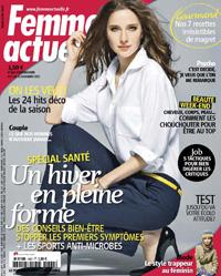FEMME ACTUELLE 5 NOVEMBRE 2012